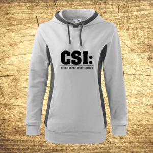Dámska mikina s motívom CSI