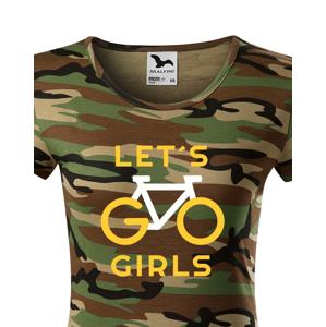 Dámské tričko Lets Go Girls - ideální cyklistické triko