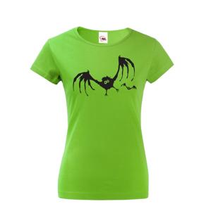 Dámské tričko Netopýr - odvážné tričko