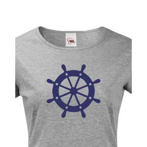 Dámské tričko pro zadáky - tričko na vodu pro kapitána lodi