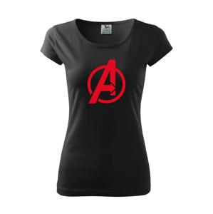 Dámské tričko s populárním motivem Avengers