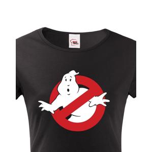 Dámské tričko s potiskem Krotitelé duchů - Ghostbusters