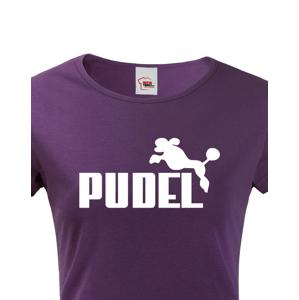 Dámské tričko s potiskem Pudel - tričko pro pejskařky