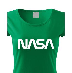 Dámské tričko s potiskem vesmírné agentury NASA