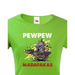 Dámské tričko ze seriálu Mandalorian - Baby Yoda