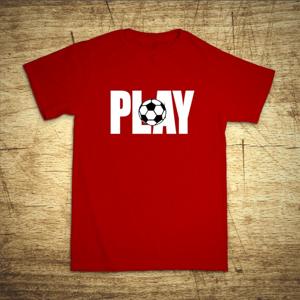 Detské tričko s motívom Play