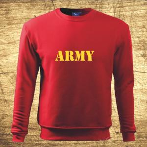 Mikina s motívom Army