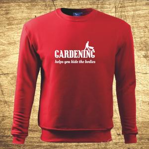 Mikina s motívom Gardening