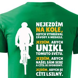 Originální pánské triko Hymna cyklisty