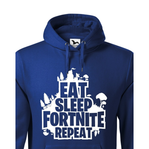 Pánská mikina Eat Sleep Fortnite Repeat