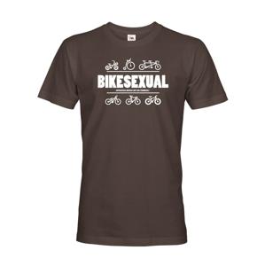 Pánské tričko Bikesexuál vám vždy zvedne náladu
