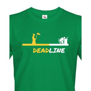 Pánské tričko Deadline - triko pro grafiky a IT