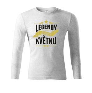 Pánské tričko k narozeninám Legendy se rodí