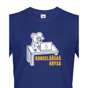 Pánské tričko Kancelářská krysa - ideální dárek k narozeninám
