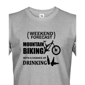 Pánské tričko MTB - pro milovníky horských kol nutnost