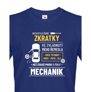 Pánské tričko pro automechaniky - ideální narozeninový dárek