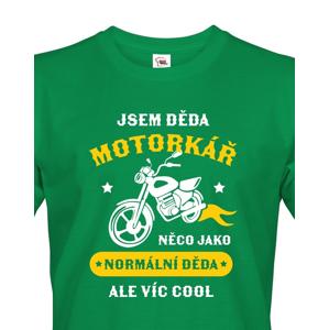 Pánské tričko pro dědu motorkáře - ideální dárek k narozeninám