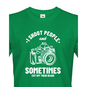 Pánské tričko pro fotografy - I Shoot People