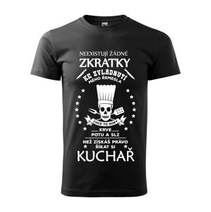 Pánské tričko pro kuchaře s vtipným potiskem - originalita až na první místě