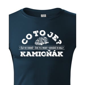 Pánské tričko pro řidiče kamionu / kamioňáky - ideální dárek