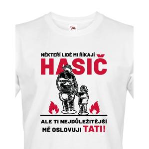 Pánské tričko pro tátu hasiče - ideální dárek pro novopečeného tatínka