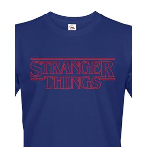 Pánské tričko s potiskem Stranger Things