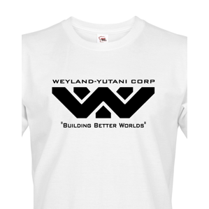 Pánské tričko Weyland Yutani -  motiv z oblíbené série Vetřelec/Aliens/