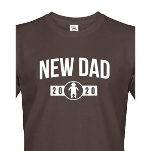 Pánské triko pro nastávající tatínka New dad - ideální dárek