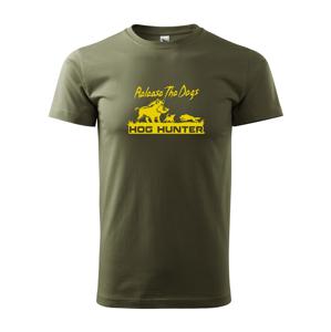 Tričko pro myslivce Hog hunter
