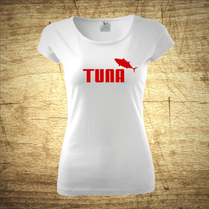 Tričko s motivem Tuna