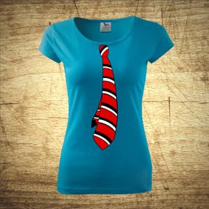 Tričko s motívom kravata
