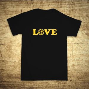 Tričko s motívom Love