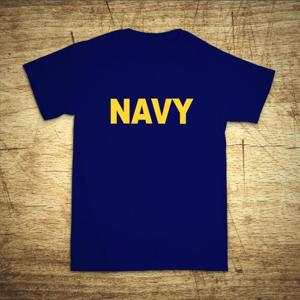 Tričko s motívom Navy
