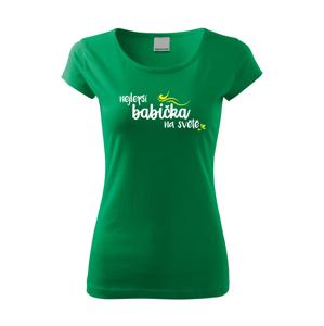 Tričko s potiskem pro babičku - Nejlepší babička na světě