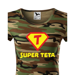 Tričko Super teta - ideální dárek pro všechny tety a tetičky
