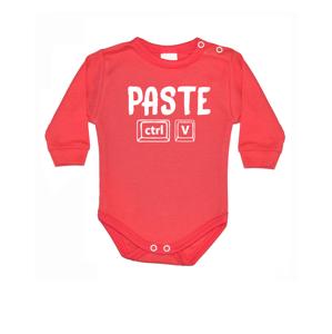 Vtipné dětské bodyčko a pánské tričko Copy a Paste