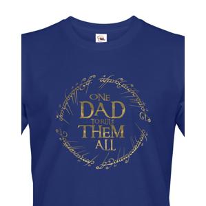 Vtipné tričko pro tatínky Tričko One Dad to Rule Them All